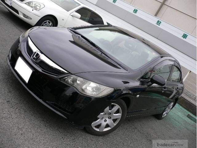 Honda Civic 2009 Car From Japan Japanese Exporters At Quality Auto Company Ltd Dealer Used
